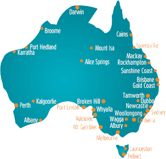 Darwin Map Of Australia.Domestic Transportation Petflyers Pet Transportation
